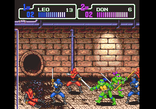 Teenage Mutant Ninja Turtles - The Hyperstone Heist (U) [!]